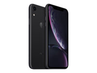 "Apple iPhone XR - Älypuhelin - Kaksois-SIM - 4G LTE Advanced - 64 GB - GSM - 6.1"" - 1792 x 828 pikseliä (326 ppi) - Liquid Retina HD display - 12 MP (7 MP front camera) - musta MRY42FS/A"
